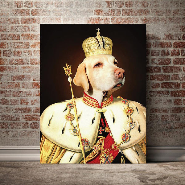 The King - Custom Pet Canvas - The Zulu Pet Co
