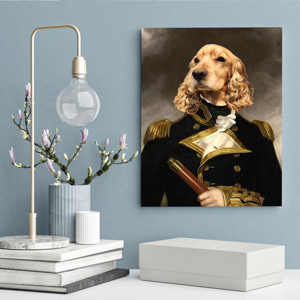 The Governor - Custom Pet Canvas - The Zulu Pet Co