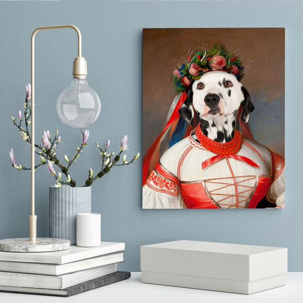The Princess - Custom Pet Canvas - The Zulu Pet Co