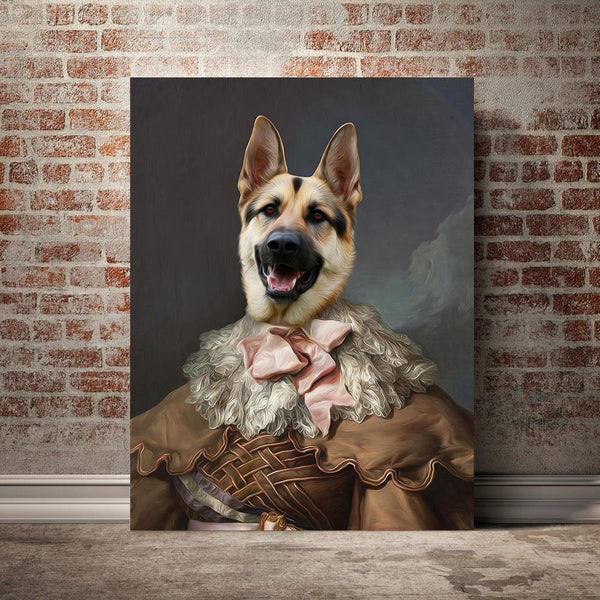 The Dame - Custom Pet Canvas