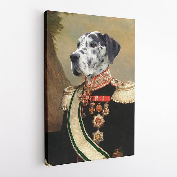 The Baron - Custom Pet Canvas