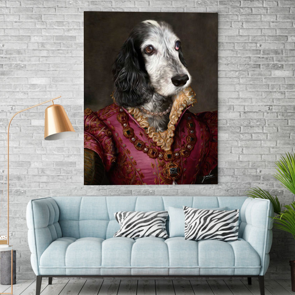The Baroness - Custom Pet Canvas - The Zulu Pet Co