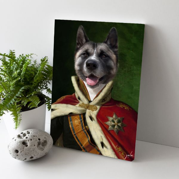 The Czar - Custom Pet Canvas