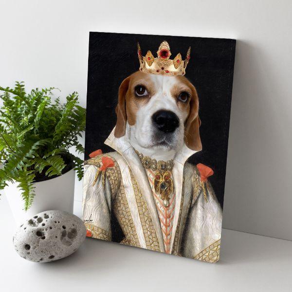 The Empress - Custom Pet Canvas