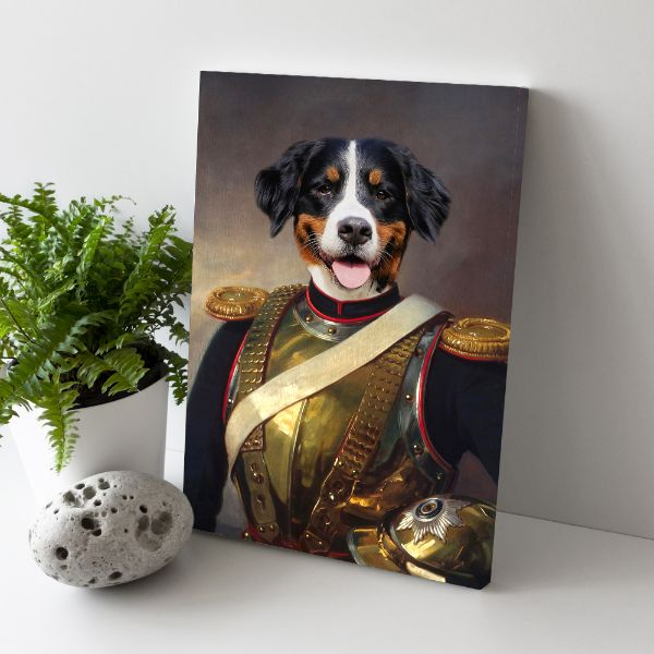 The Warrior - Custom Pet Canvas
