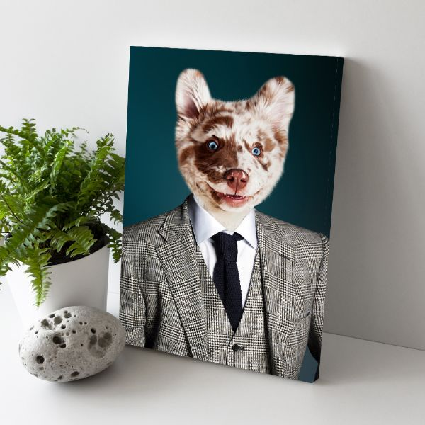 The Bloke - Custom Pet Canvas