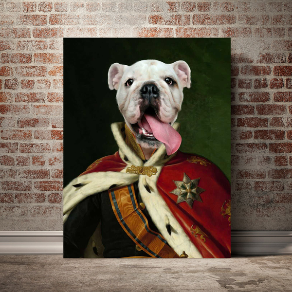 The Czar - Custom Pet Canvas - The Zulu Pet Co