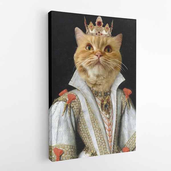 The Empress - Custom Pet Canvas - The Zulu Pet Co