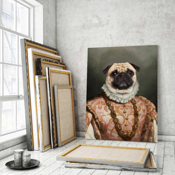 The Marchioness - Custom Pet Canvas - The Zulu Pet Co