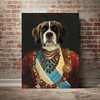 The Maharaja - Custom Pet Canvas