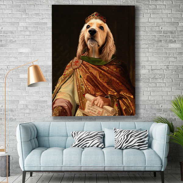 The Sultan - Custom Pet Canvas - The Zulu Pet Co