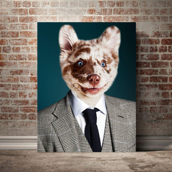 The Bloke - Custom Pet Canvas - The Zulu Pet Co