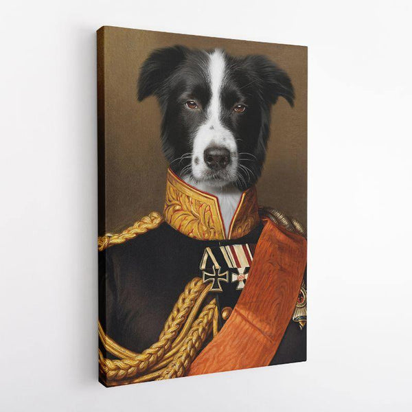The General - Custom Pet Canvas - The Zulu Pet Co