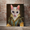 The Lady - Custom Pet Canvas