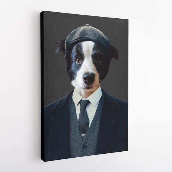 The Peaky Blinder - Custom Pet Canvas - The Zulu Pet Co