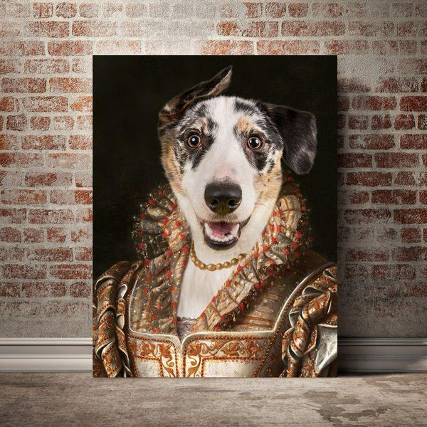 The Regent Queen- Custom Pet Canvas - The Zulu Pet Co