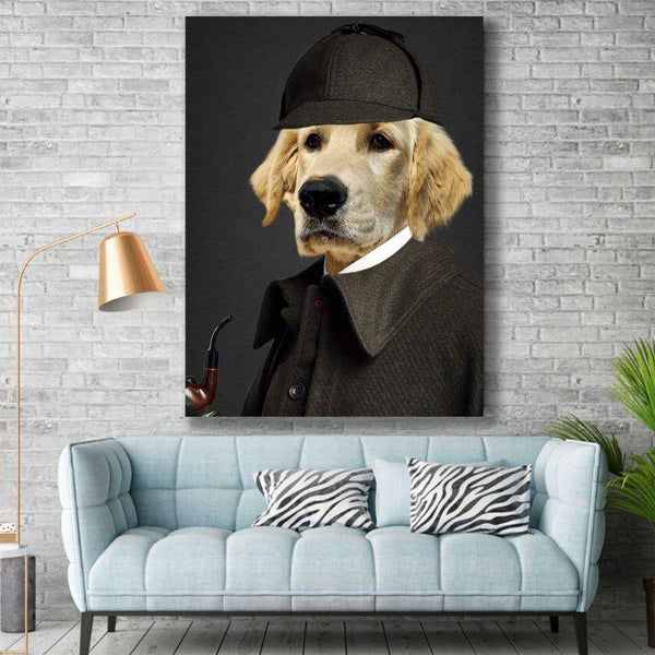 The Sherlock - Custom Pet Canvas - The Zulu Pet Co