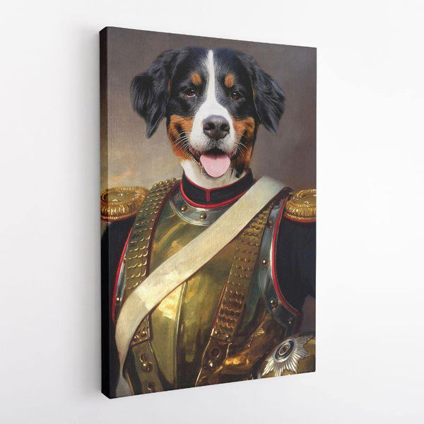The Warrior - Custom Pet Canvas - The Zulu Pet Co