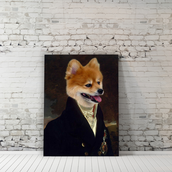 The Viceroy - Custom Pet Canvas