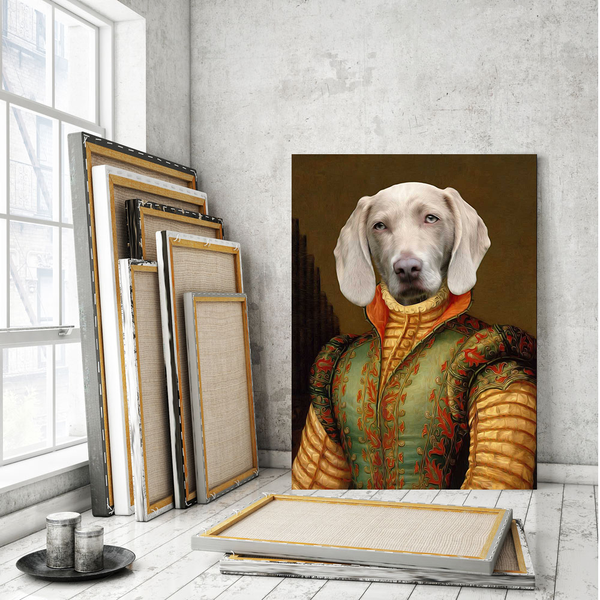 The Vicereine - Custom Pet Canvas