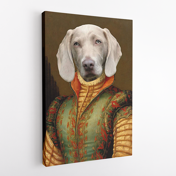 The Vicereine - Custom Pet Canvas - The Zulu Pet Co