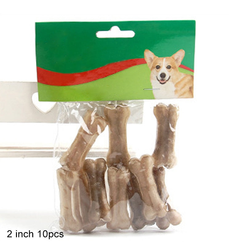 Cowhide Durable Teeth Cleaning Chew Toys