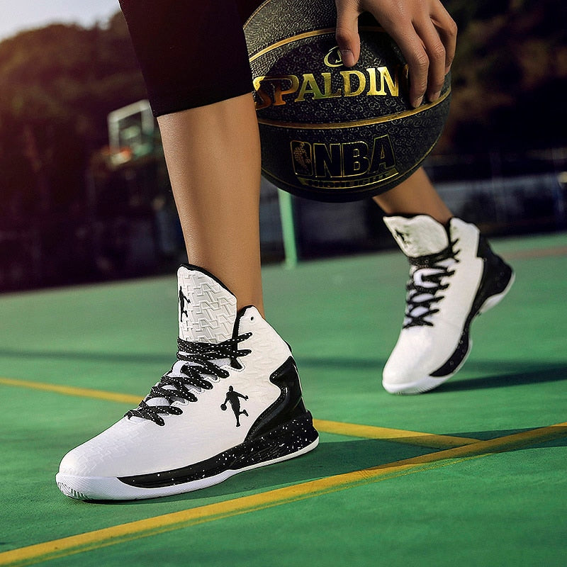 Men's Off-Brand Hight Top Basketball Shoes