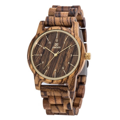 Wooden Band Wristwatches