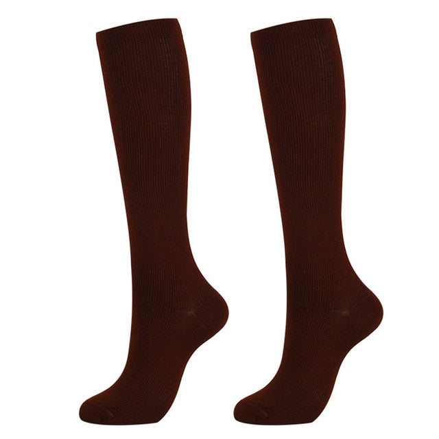 1 Pair of Men and Women's Compression Stockings