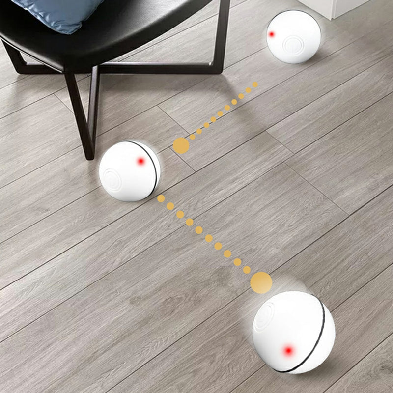 LED Auto Rolling Flash Ball