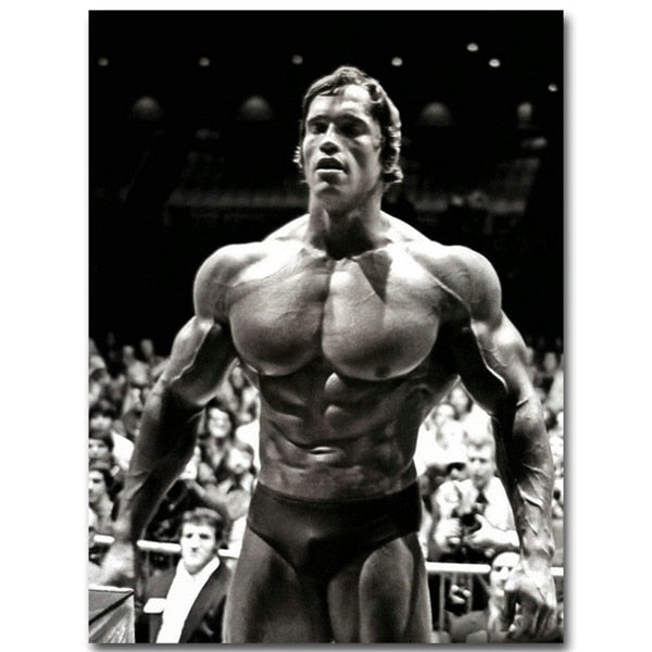 Prime Arnold Schwarzenegger On Stage Canvas Printings (No Frame)