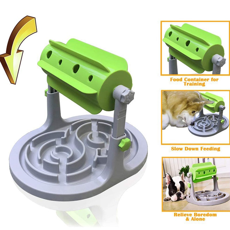 Interactive Dry Food Feeder