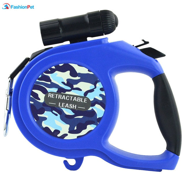 8 Meter Retractable LED Dog Leash for Big Dogs