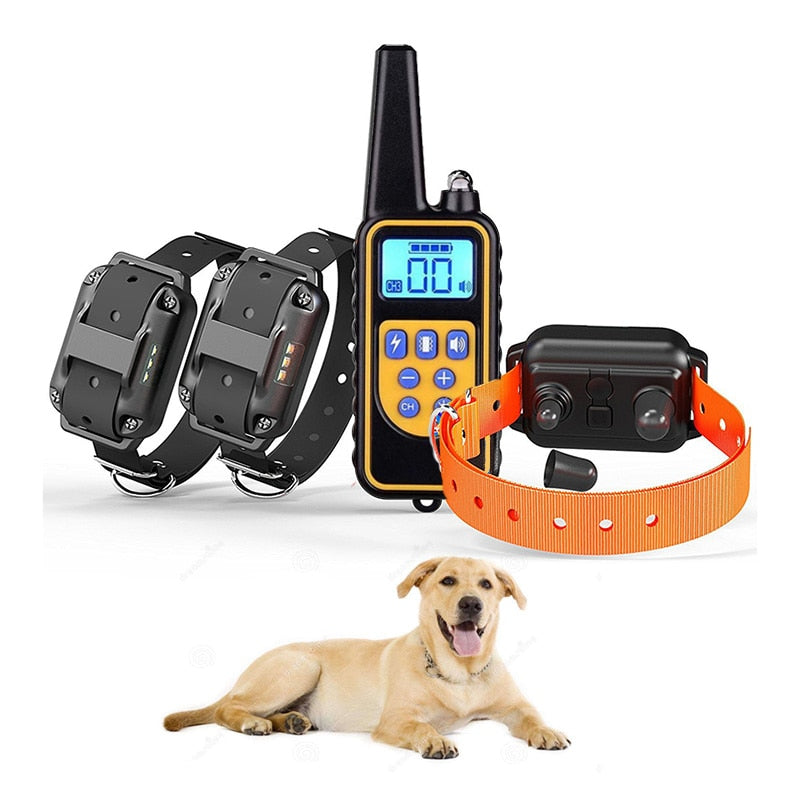 Waterproof Electric Training Collar (Range of 0.5 Miles)
