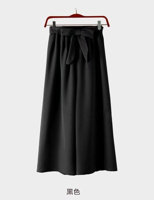 Women's Wide Ankle Length Pants