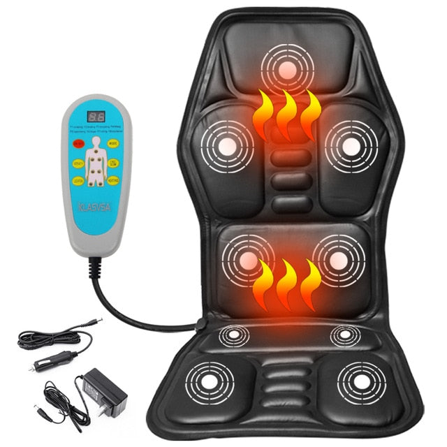 Electric Portable Heating and Vibrating Back Massager