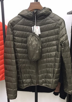 Men's All-Season Ultra Lightweight Packable Down Jacket