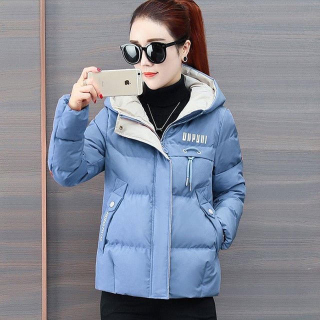 Women's Thick Cotton Down Padded Jacket - Average1