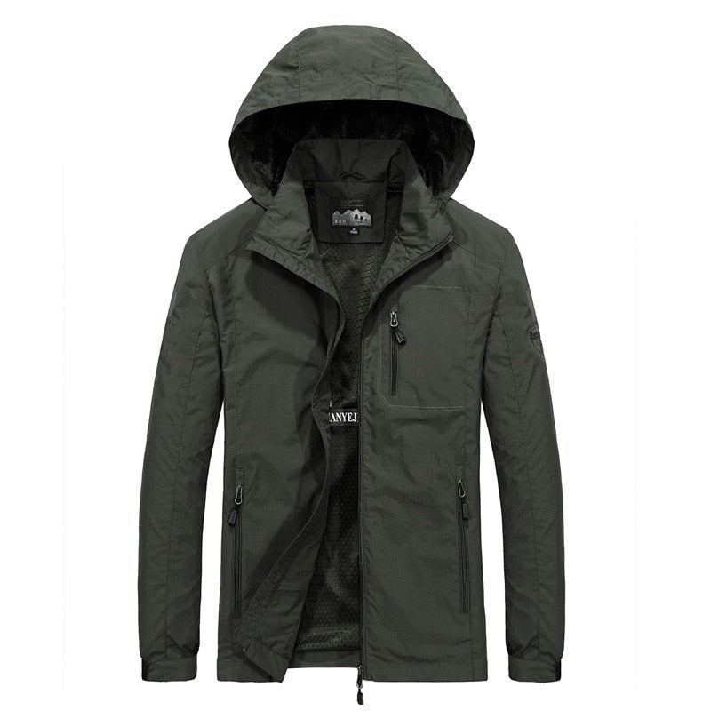 Men's Windbreaker Casual Jacket - Average1