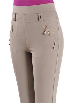 Women's High Waist Stretch Pants