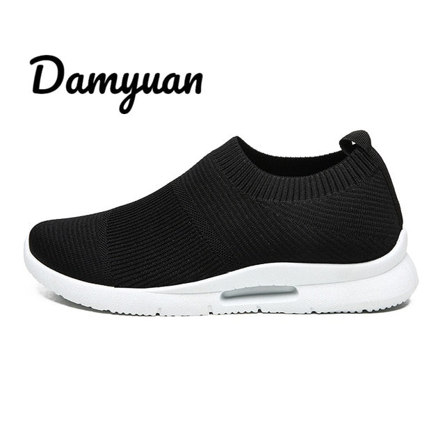 Fashionable Light Slip-On Sneakers