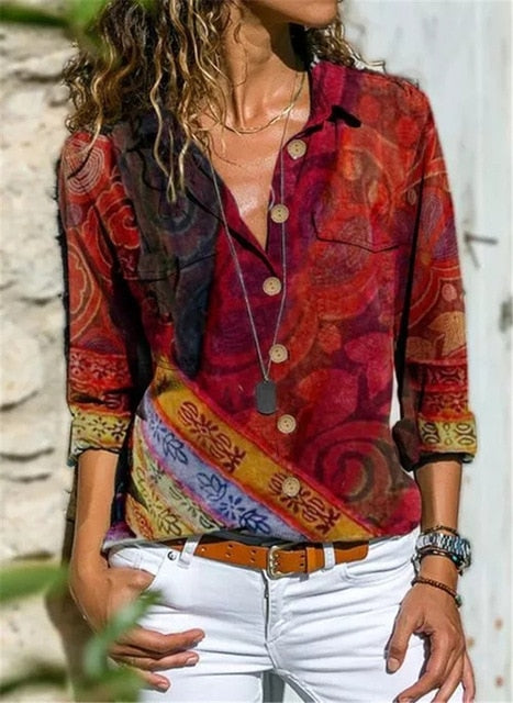 Women's Fashionable Long Sleeve Shirt
