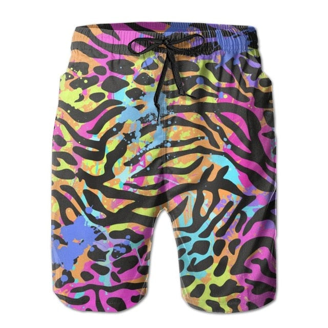 Men's Primal Print Swim Trunks