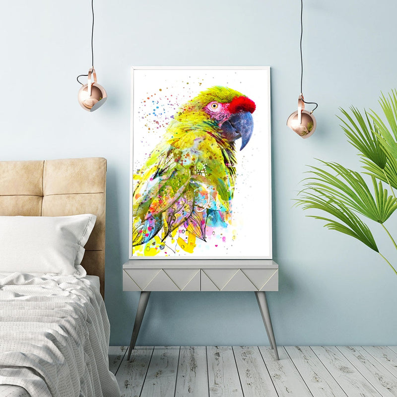 Colorful Birds Art