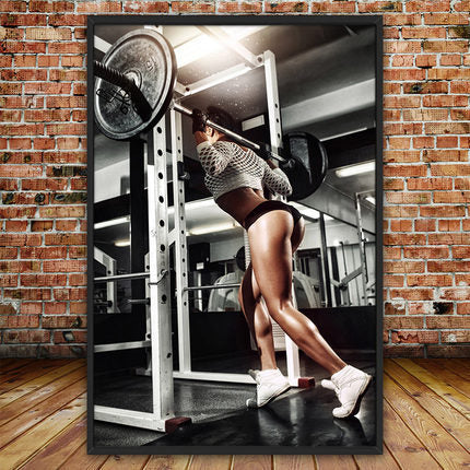 Fitness Motivation Wall Canvases