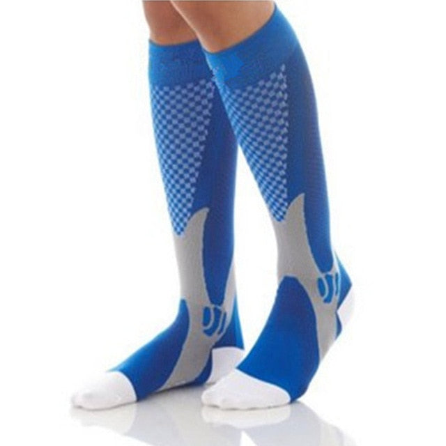 1 Pair of Men and Women's Compression Sports Stockings
