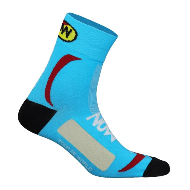 1 Pair of Men's Breathable Cycling Socks