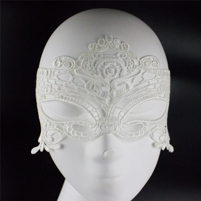 Cosplay Laced-Out Eye Mask
