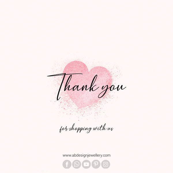 Thank you for Shopping with Abdesigns Jewellery