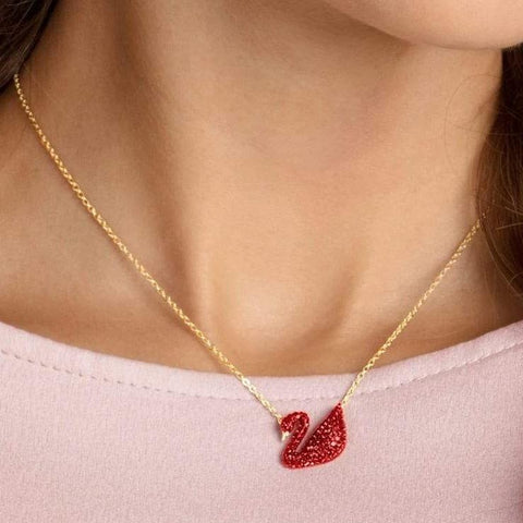 Red Swan Necklace